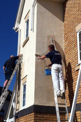 soffits fascias painting milton keynes bletchley newport pagnell