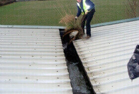 Commercial Gutter Cleaning Buckingham, Buckinghamshire